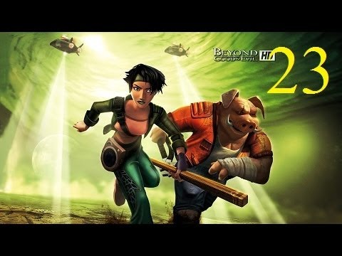 Let's Play Beyond Good & Evil HD Blind! Part 23 Sad Music