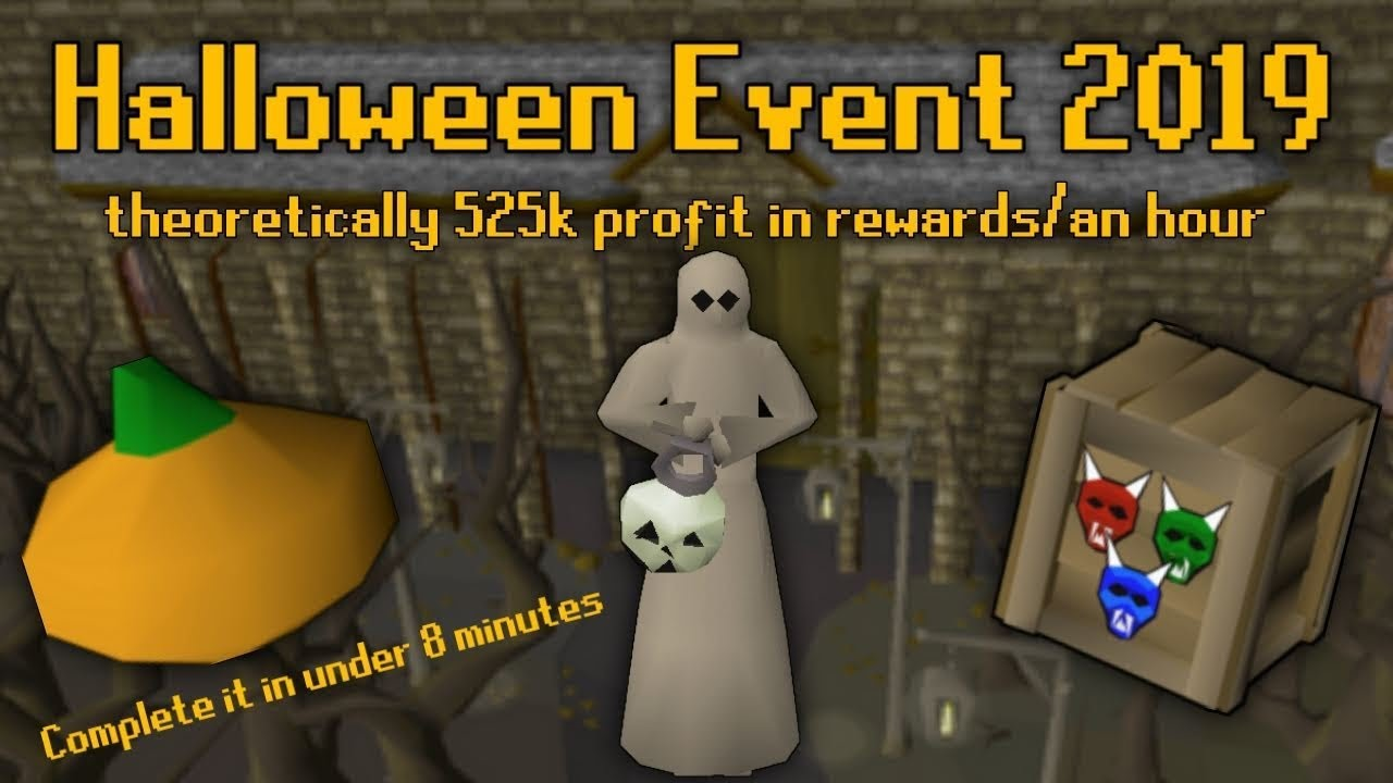 Halloween 2020 Osrs Rewards OSRS Halloween Event 2019 Guide   525k An Hour   Takes 5 8 Minutes