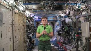 Space Station Commander Discusses Record Flight with the Media
