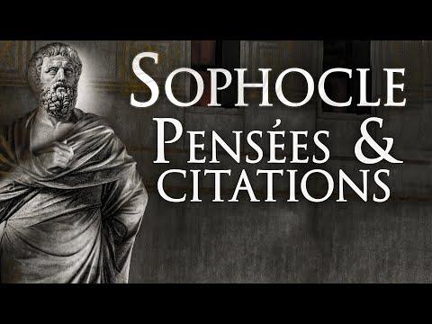 Sophocle : Marque Ton Époque   Citations