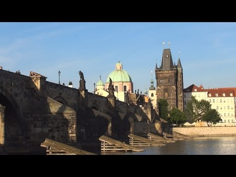 From Petrin Hill to Kampa Island, Prague, Czech Republic / Z Petřína na Kampě, Praha, Česko