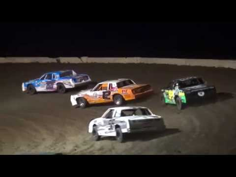 IMCA Hobby Stock feature Stuart International Speedway 6/26/16