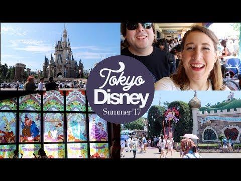 Tokyo Disneyland Part 1! Queen of Hearts Banquet Hall & Fantasyland! Japan Summer 2017