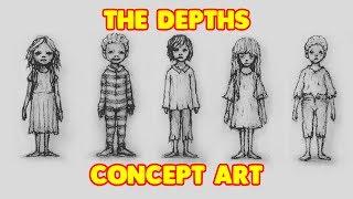 Secrets of the Maw DLC: THE DEPTHS - Concept Art All Unlocked (Little Nightmares)