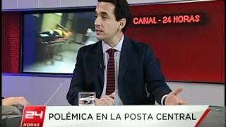 Entrevista a Diputado Marco Antonio Nuñez por Bacteria en Posta Central