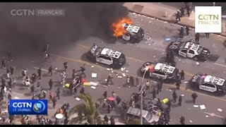 États-Unis:Des manifestations éclatent dans plus de 30 villes, des États activent la Garde nationale
