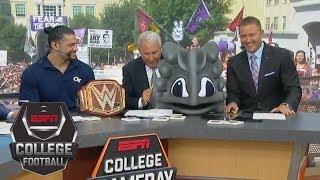 Lee Corso picks Week 3: Ohio State Buckeyes vs TCU Horned Frogs | College GameDay | ESPN