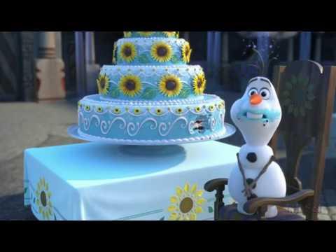 Эльза и Анна из м/ф Холодное торжество поздравляют с Днём рождения!