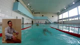 Обучение плаванию кролем. Отчёт о тренинге  Москва май 2018.