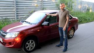 видео Лада Гранта ВАЗ-2190 седан