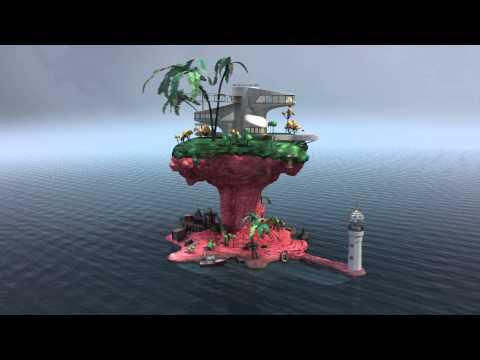 Gorillaz Rhinestone Eyes Fan Video - Plastic Beach 360 promo