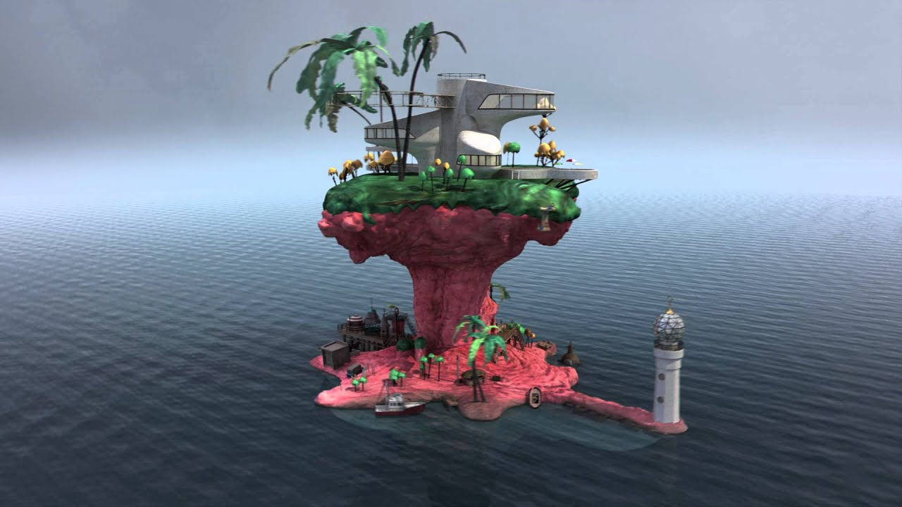 Minecraft Wallpaper Hd Download Gorillaz Rhinestone Eyes Fan Video Plastic Beach 360