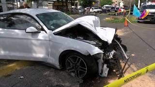 Los recién casados que murieron tras coche con Joao Maleck