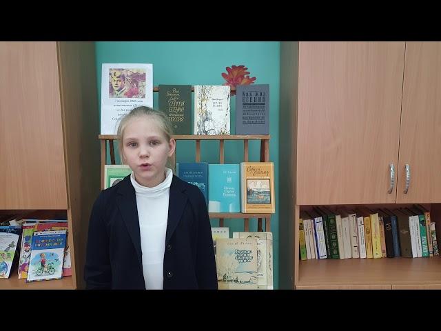 Изображение предпросмотра прочтения – КсенияРехлицкая читает произведение «Буря» С.А.Есенина