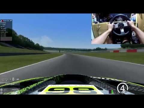 Assetto Corsa BMW M3 GT2 @ Nurburgring GP - Logitech G27 - GTX 750Ti 60fps