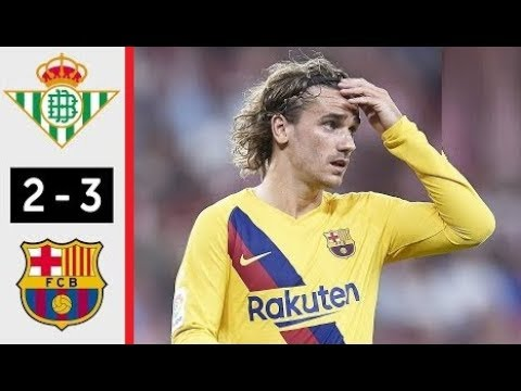 Real Betis vs. Barcelona - Football Match Report - February 9, 2020 ...