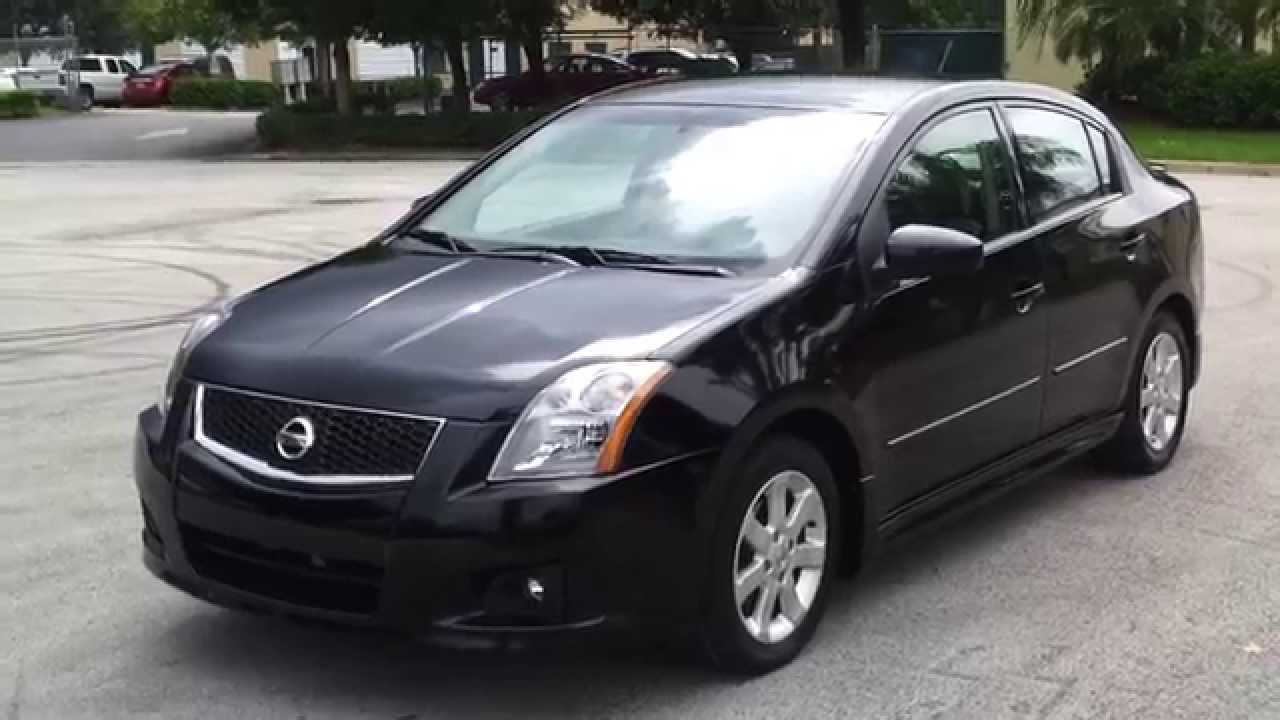 for sale 2009 nissan sentra sr fe sedan - youtube