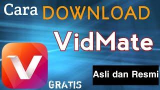 Gambar cover Cara Download Aplikasi VidMate Asli dan Resmi V.3.43