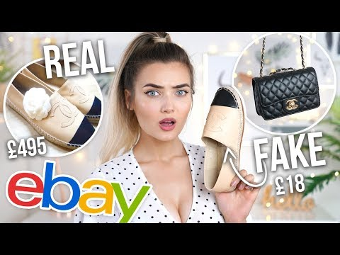 I BOUGHT FAKE DESIGNER ITEMS ON EBAY... REAL VS FAKE!
