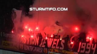 Sturm Graz-Rapid Wien (Pyroshow)