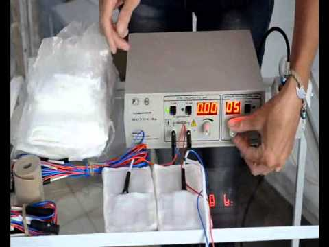 Электрофорез с набором Ферменкол при помощи аппарата Элфор - YouTube
