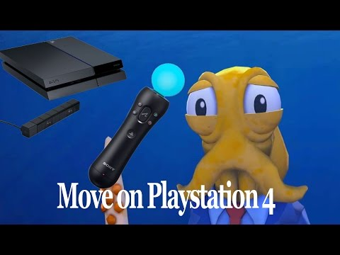 Playstation Move on Playstation 4
