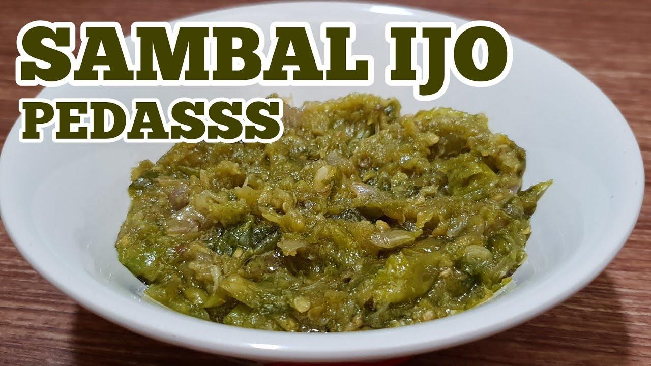 cara membuat sambal cabe ijo pedas youtube rh youtube com