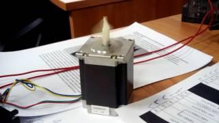 Использование SFC в STM32 для управления шаговым двигателем