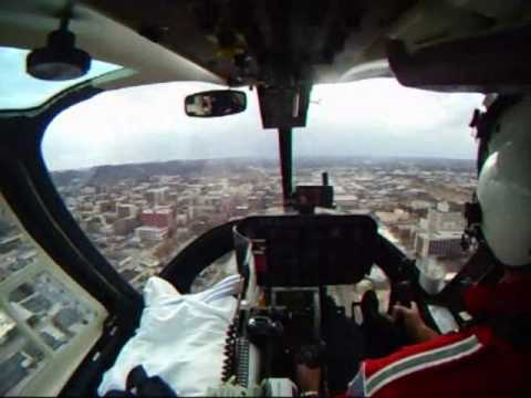 GoPro Wide Camera Medivac Bell 206 Helicopter Air Evac