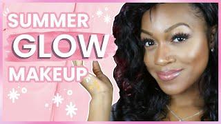 Summer Glow & Bronzy Eyes | Tutorial (GRWM)