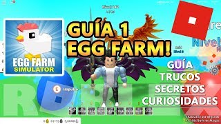 Egg Farm Simulator, How to Level Up Fast, Black Eggs and Mythic Roblox English Tutorial Tutorial 1