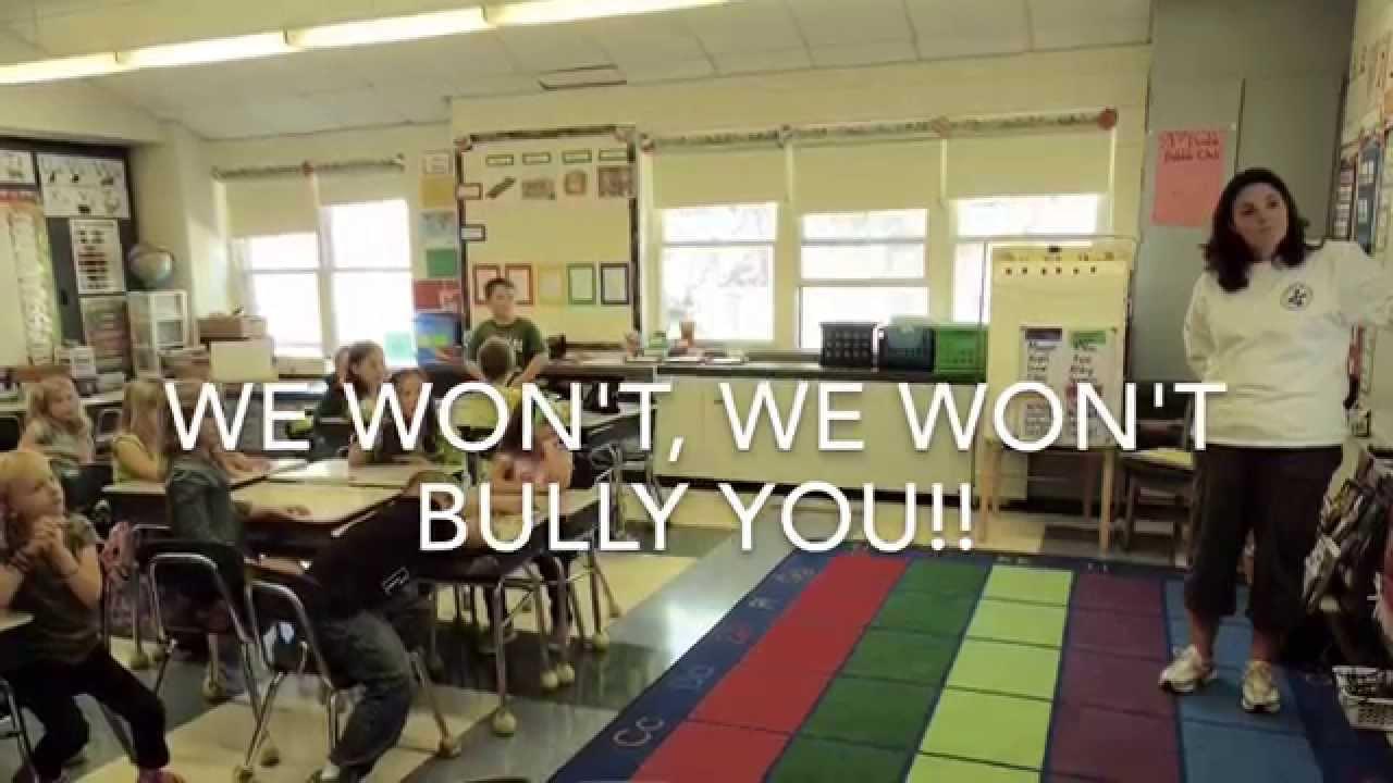 Elementary Classroom Playlist : Quot we won t bully you west sand lake elementary classroom
