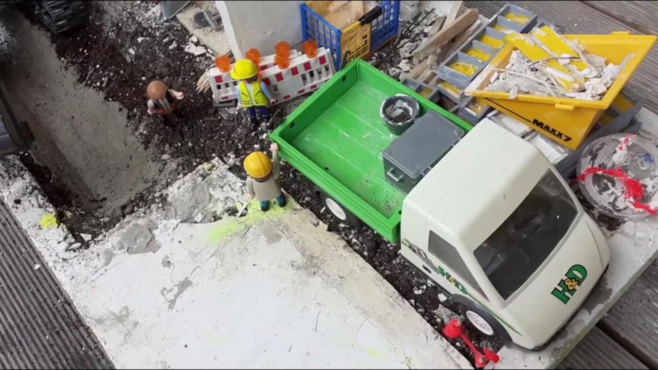 Neubau Garage Tag 33 | Tiefbau + Grubensicherung!!! | LionBau