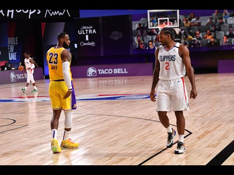 LeBron James & Anthony Davis vs. Kawhi Leonard & Paul George | Best Highlights