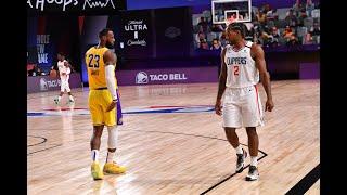 LeBron James & Anthony Davis vs. Kawhi Leonard & Paul George   Best Highlights
