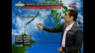 BT: Weather update as of 12:00 p.m. (February 14, 2018)