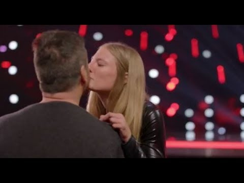 Simon Falls In LOVE With Trainer Sara Carson And Her Dog 'Hero'  | America's Got Talent 2017