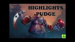 DotA 2 Highlight - Pudge Mega Hook   The butcher sewed terror