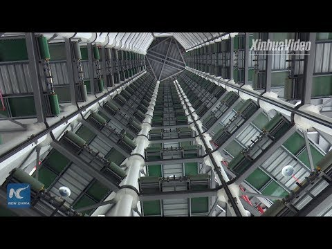 20-story automated parking garage starts trial operation in Chongqing, China