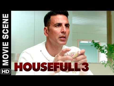 Akshay is suffering from split personality disorder | Housefull 3 | Movie Scene