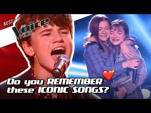 TOP 10 | The GREATEST SONGS Of ALL TIME In The Voice Kids! ❤️