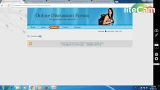 Online Discussion Forum Project, Department of Computer Sciences, SOET - JNU
