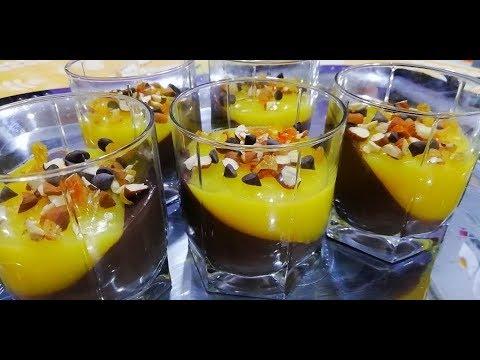 dessert-chocolat-orange-facile-à-faire-en-10min