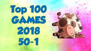 Top 100 Games of 2018, 50-1