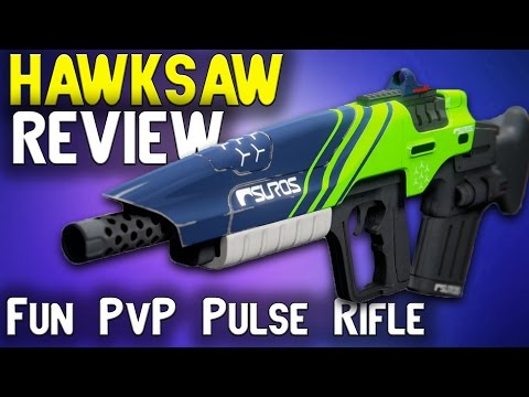 Destiny Hawksaw Review | Beast PvP Pulse Rifle