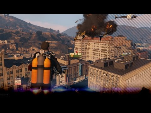 [GTA V] Jetpack Stelen Van De Leger Basis (GTA5)