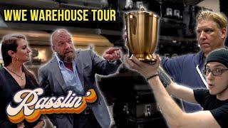 Triple H and Stephanie McMahon Show Barstool Sports Around The WWE Warehouse