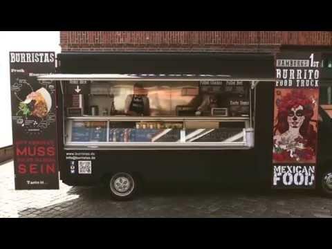 burristas burrito food truck hamburg youtube. Black Bedroom Furniture Sets. Home Design Ideas