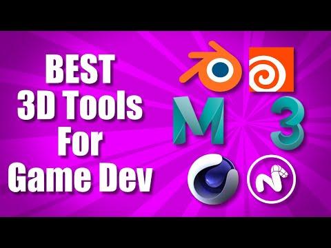 BEST 3D Modeling Tools For Game Dev | 3D Game Dev Tools 1