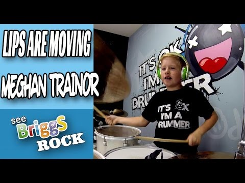 Lips Are Moving | Meghan Trainor | drum cover - YouTube